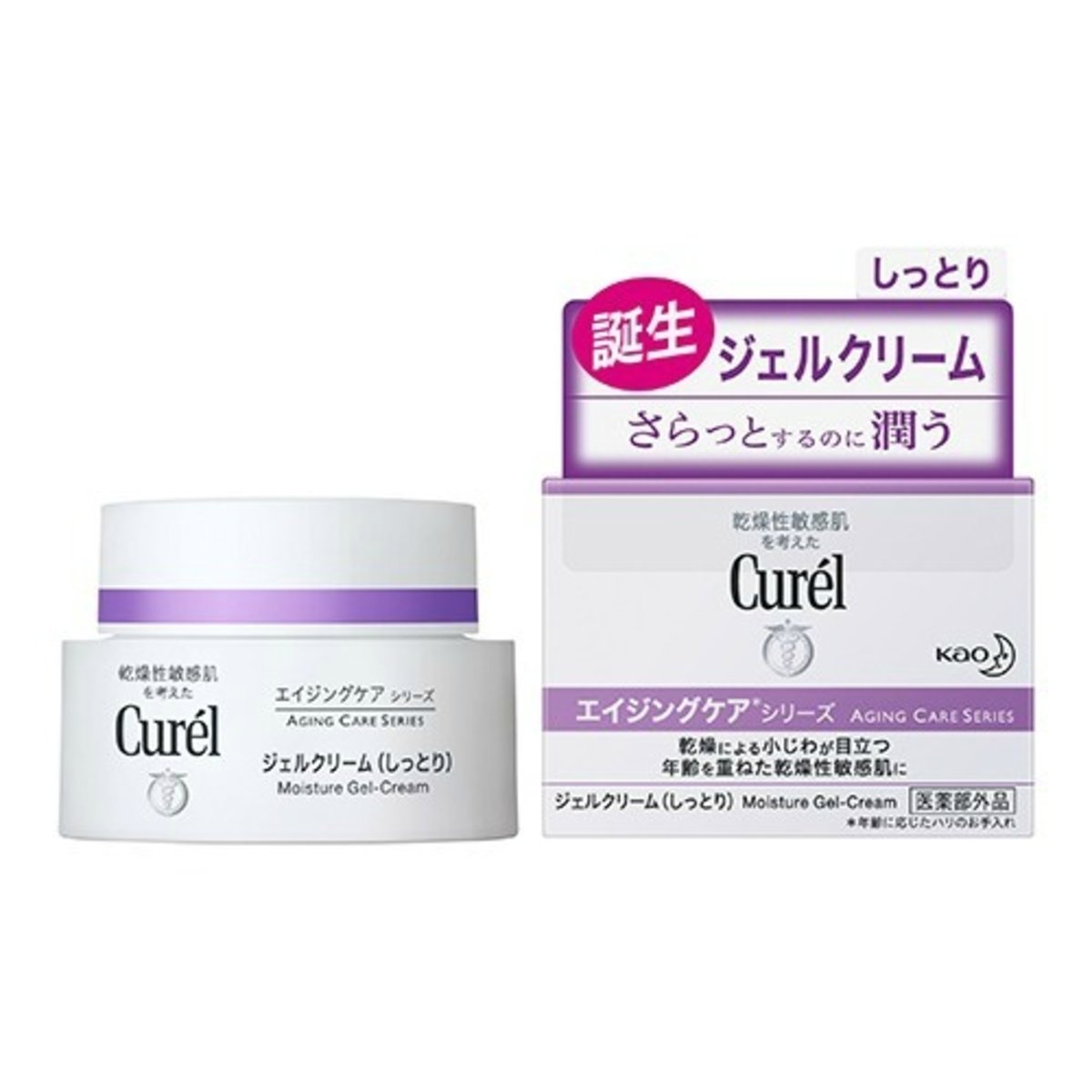 Aging Care Series Moisture Gel Cream (Purple) 40g (4901301334527)