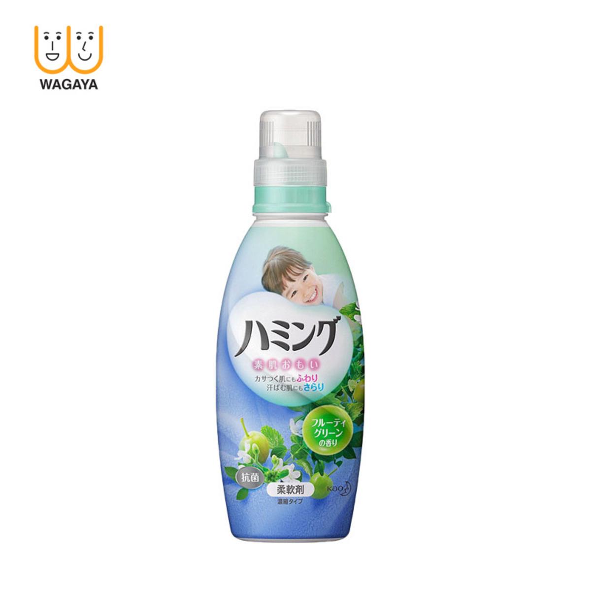 Humming Fragrance Fabric Softener 600ml (Fruity Green - Green)