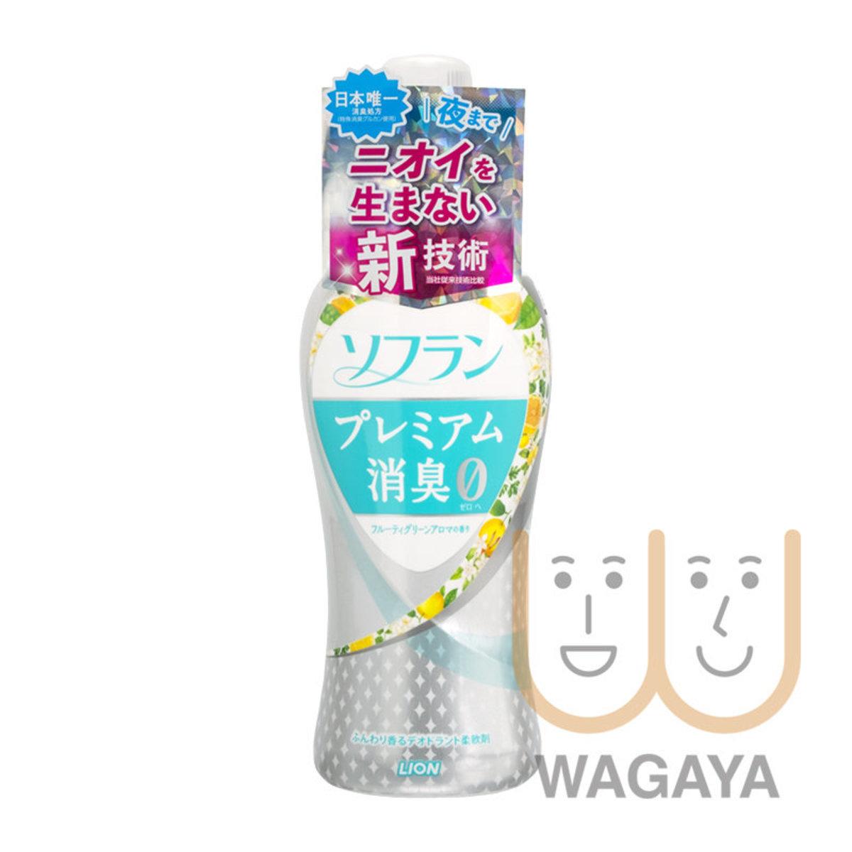 Soflan Premium Aroma Deodorant Softener 550ml (Fruity Aroma-Green)  (Parallel Import)