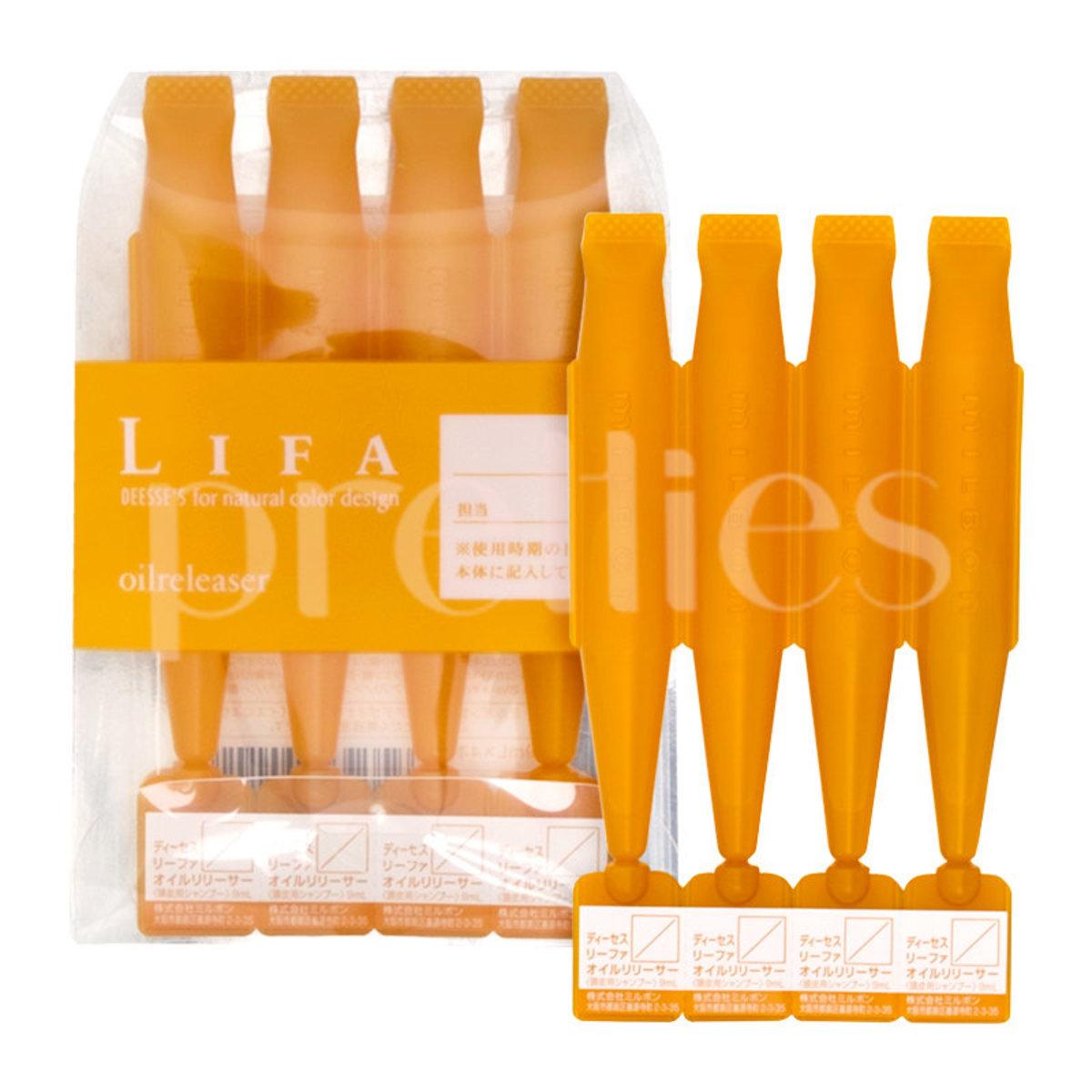 Lifa Deesse's For Natural Color Design Oilreleaser (9ml x4) Orange (4954835290142)  (Parallel Import
