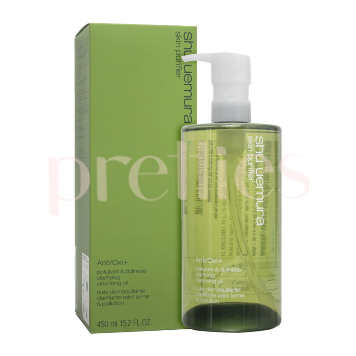 Anti-Oxidation & Anti-Dullness Cleansing Oil 450ml (Green) 4935421622899(Parallel Import)