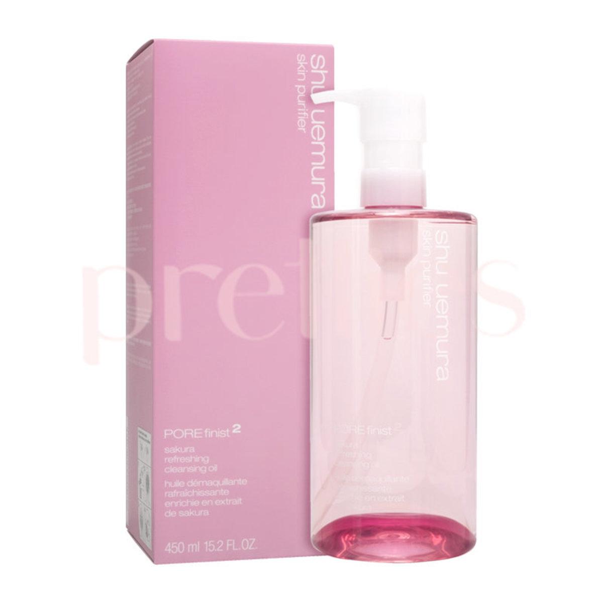 POREfinist Anti-shine fresh Cleansing Oil 450ml (Pink) 4935421652193 (Parallel Import)
