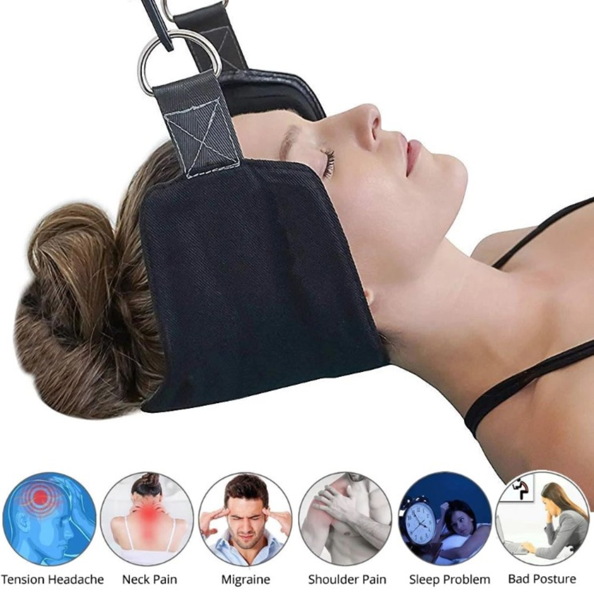 Neck Traction Pain Relief Massager