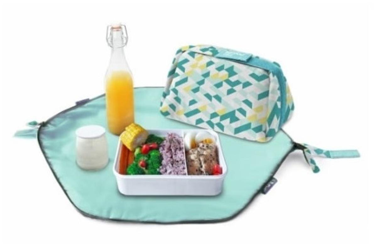 Eat'n'Out Mini環保便攜食物袋 - Labyrinth (綠色)