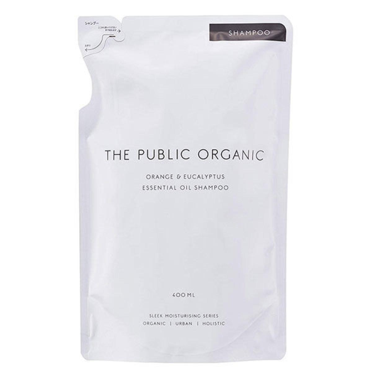Orange & Eucalyptus Essential Oil Shampoo (Super Refresh)(Refill) 400ml (Parallel Imports Product)