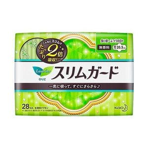花王 Laurier 纖薄日用護翼衛生巾 (20.5cm) 28片 (平行進口)