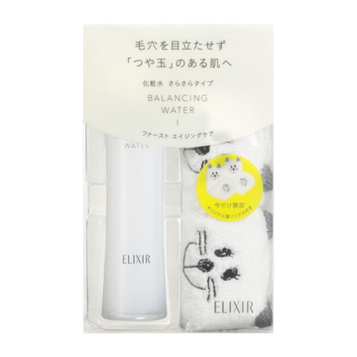 ELIXIR怡麗絲爾 平衡系列化妝水 (限定版襪子贈品)(I:清爽型)(平行進口)