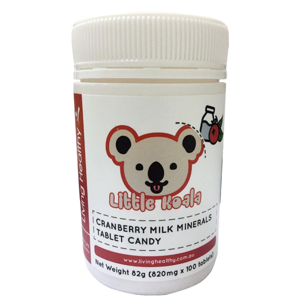 (到期日:2020/09/30)蔓越莓牛奶鈣片 100粒 (40-50日)