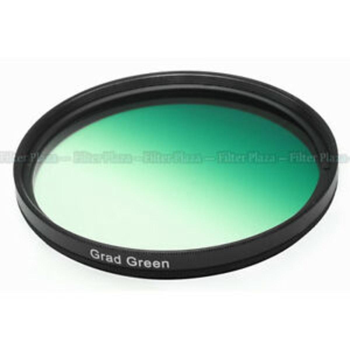 Citiwide 漸變綠色濾鏡 55MM