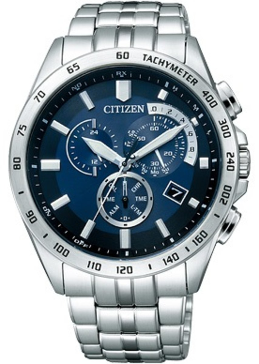 Citizen  AT3000-59L 男仕光動能手錶 平行進口