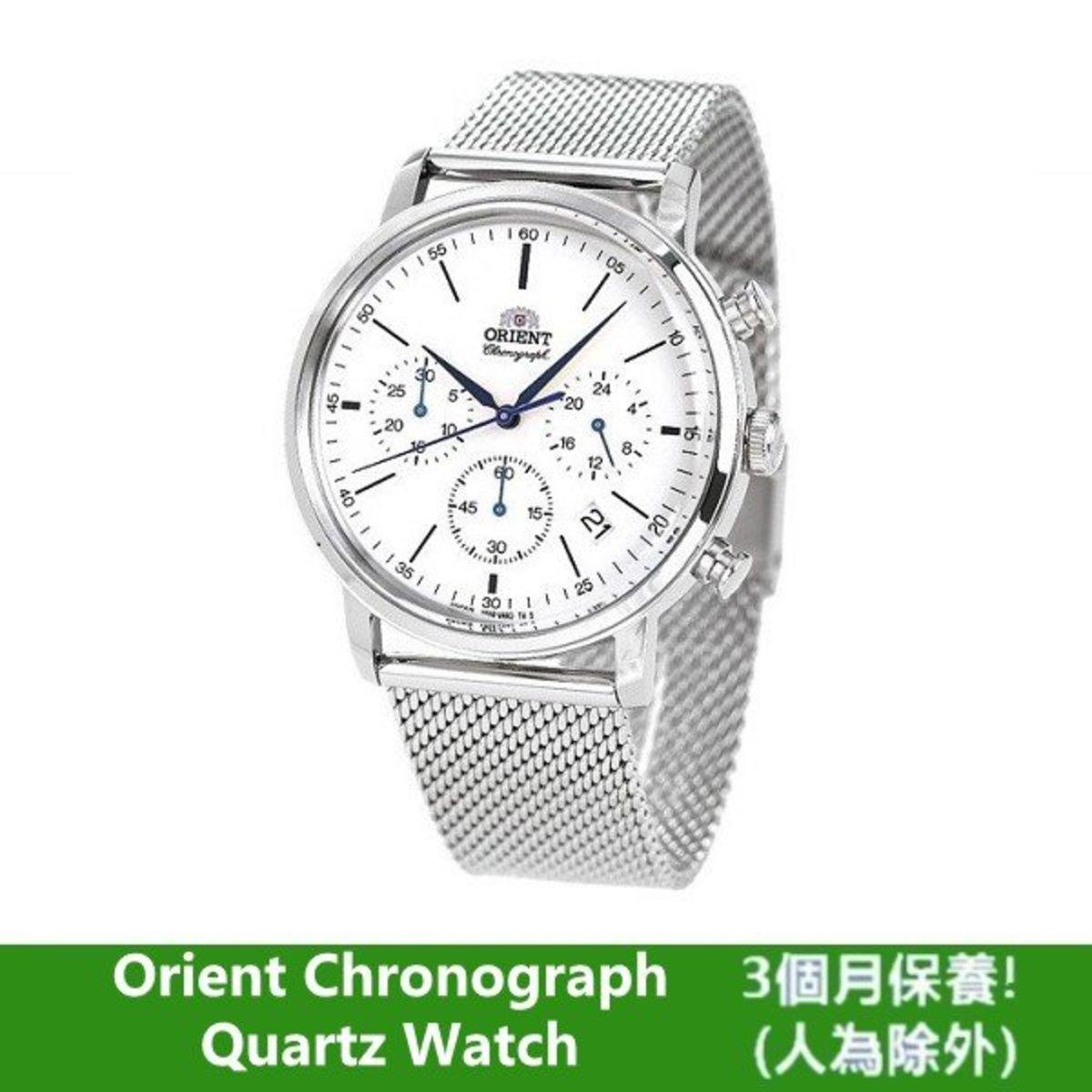 ORIENT 手錶經典款classic 石英計手錶 RN-KV0402S 平行進口