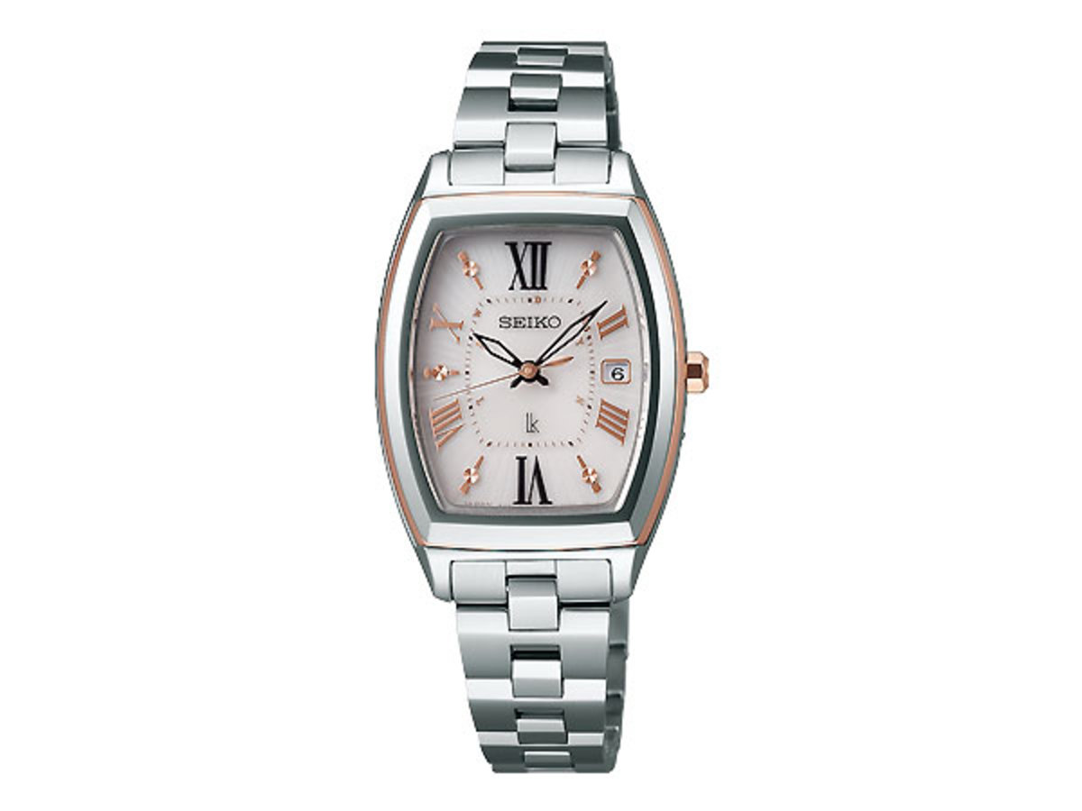 Seiko LUKIA SSQW032  Solar Atomic Dia-shield Titanium ladies watch (Parallel imported products)