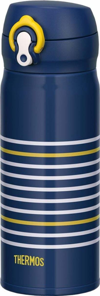 Thermos JNL - 402 Vacuum Insulated Bottle - Navy Yellow(Parallel imported products)