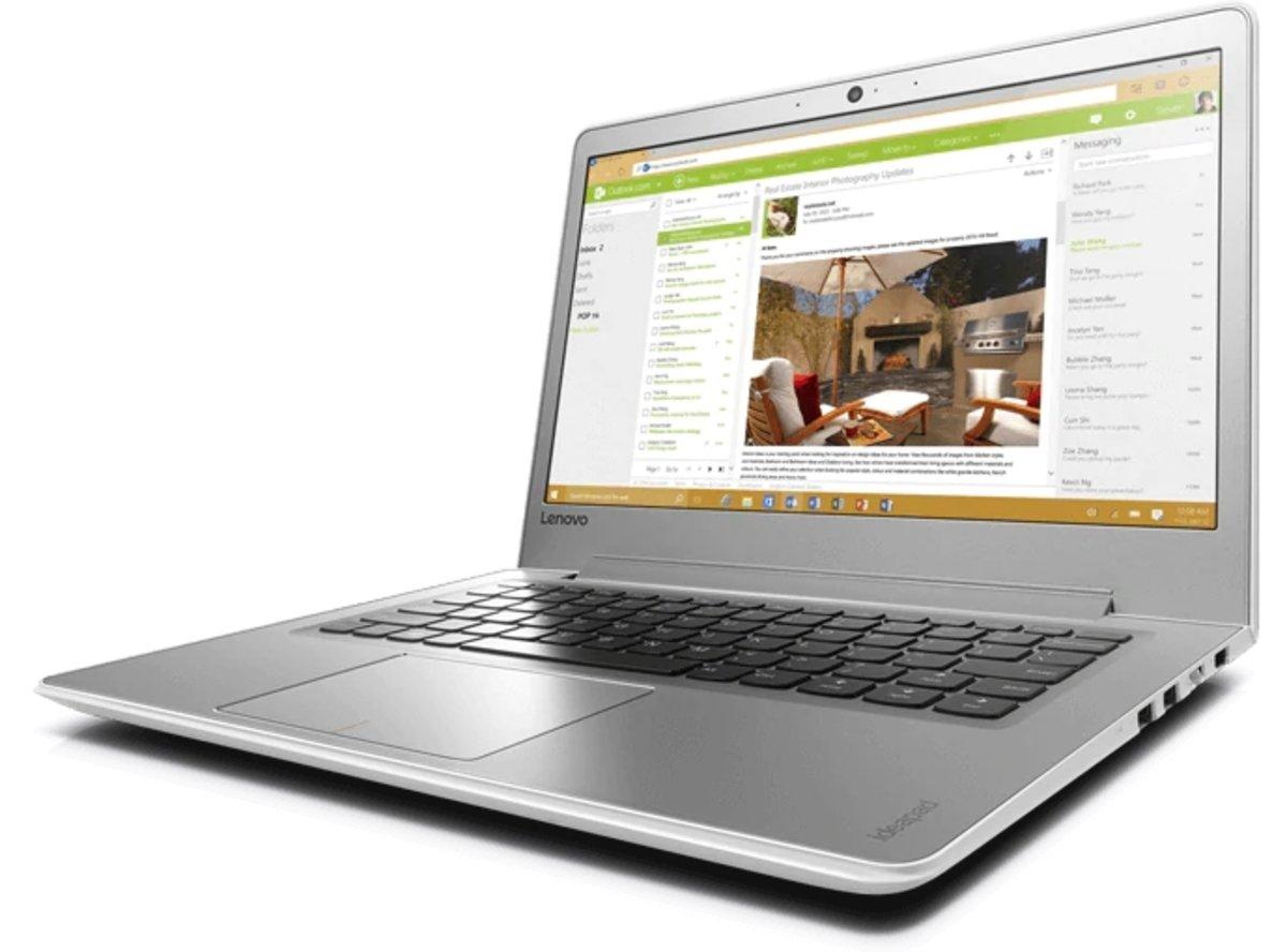 """IdeaPad 510S 13.3"""" i5 SSD 輕巧高效手提電腦 (80V0000YHH) - 高質陳列品"""