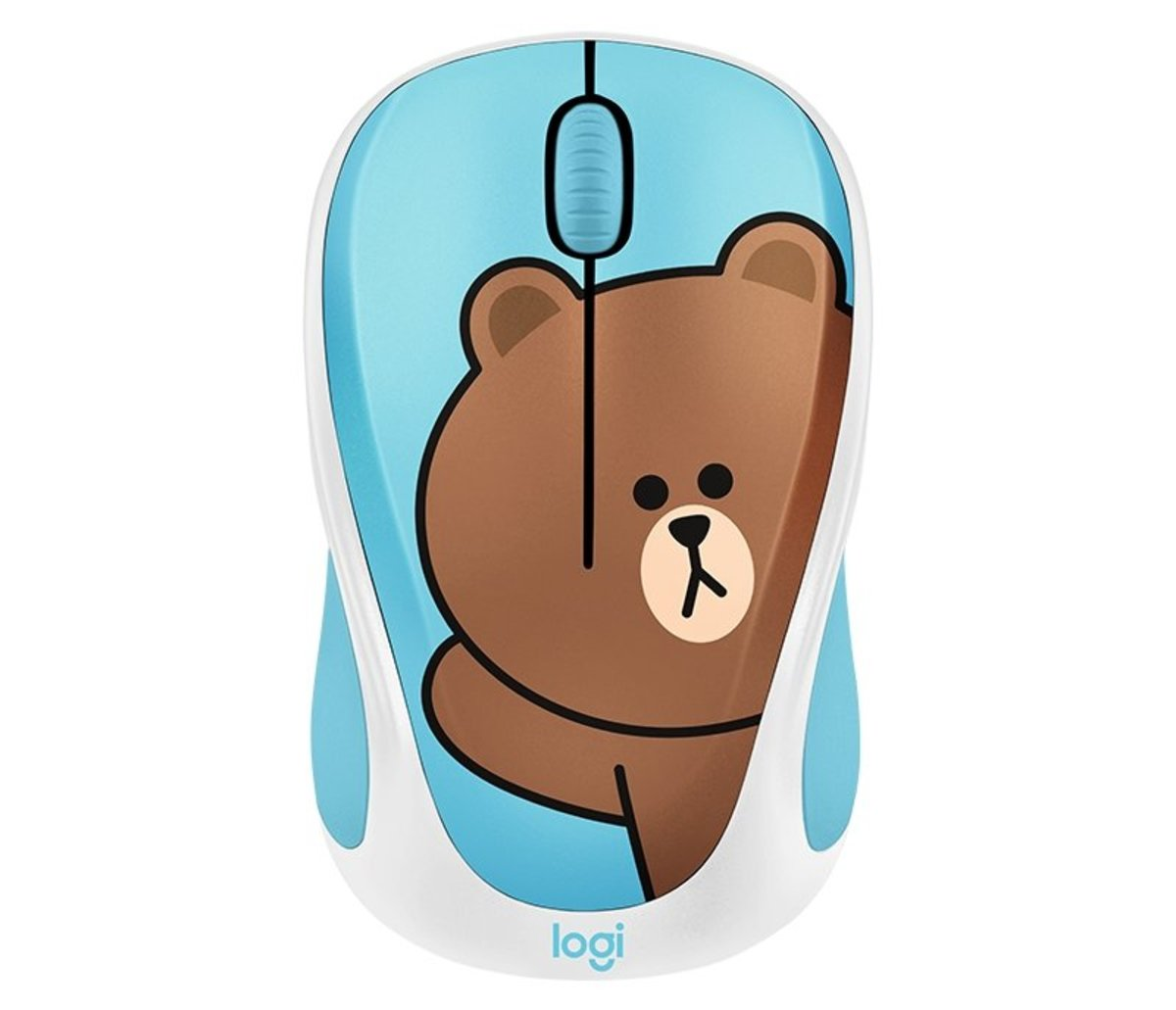 Line Friends Wireless Mouse - Brown (910-005623)