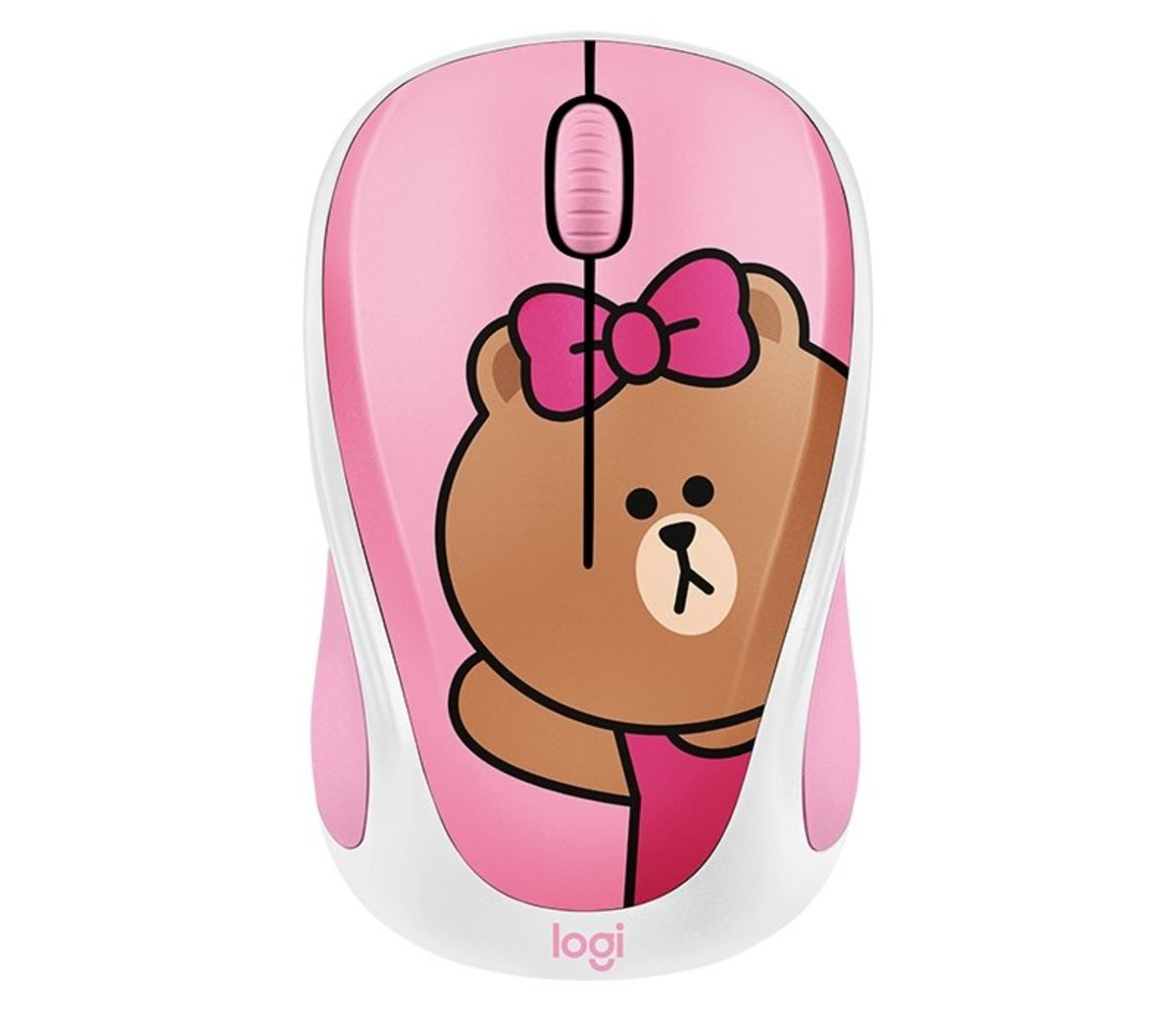 Line Friends Wireless Mouse - Choco (910-005626)