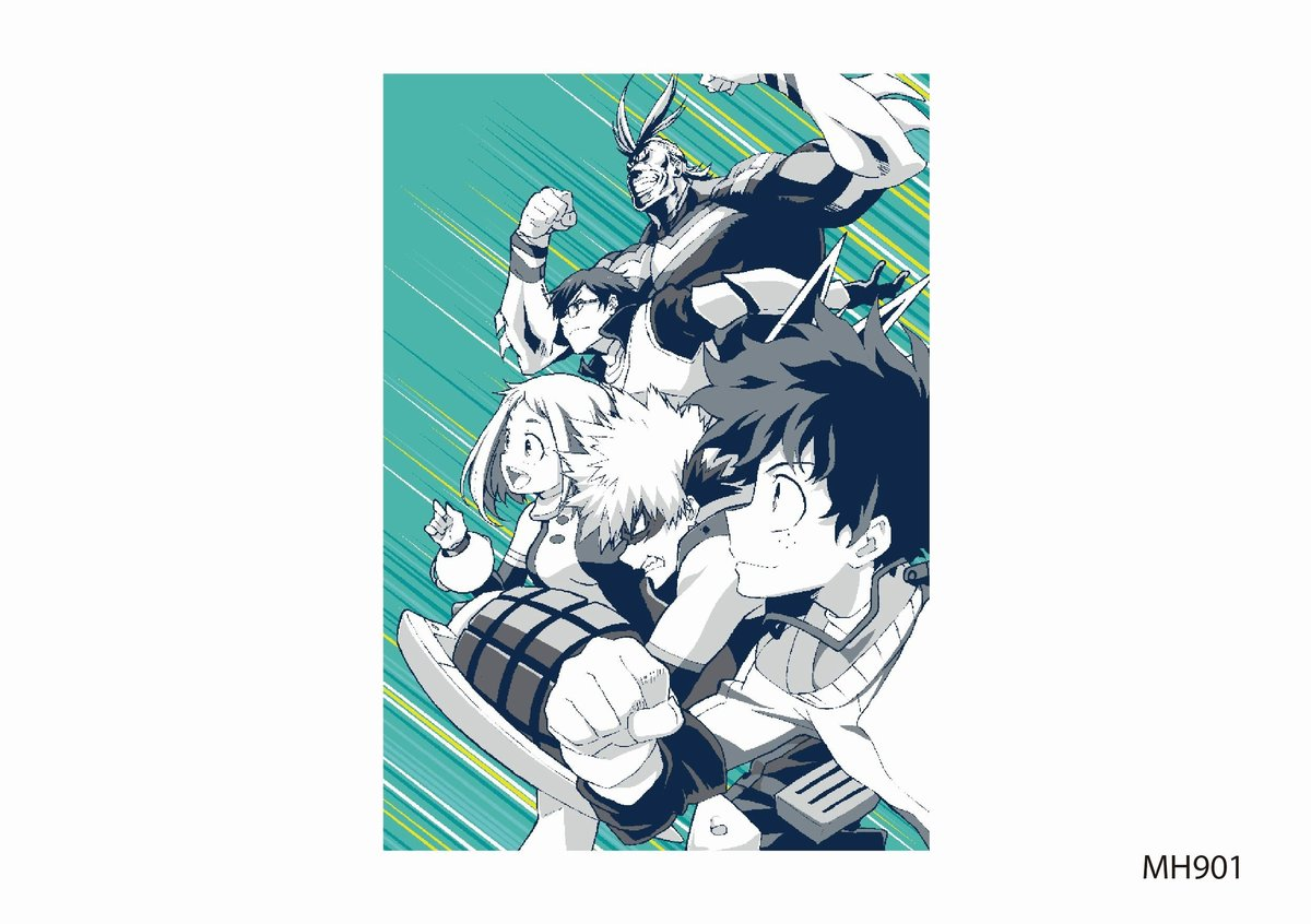 My Hero Academia Blanket- Single (MH901BTT55)