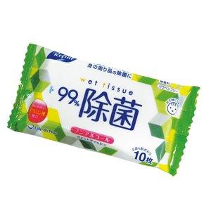 [贈品] 除菌濕紙巾(不含酒精)(10片入)-1件