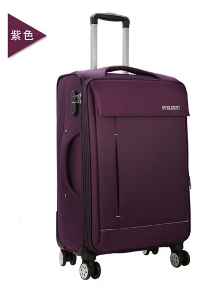 MR系列28吋牛津布軟行李箱(紫)(092-28)
