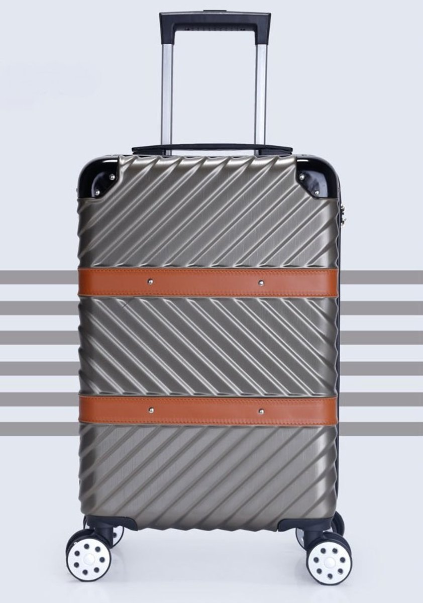 E系列20吋耐衝擊行李箱 (灰)(1081-20)
