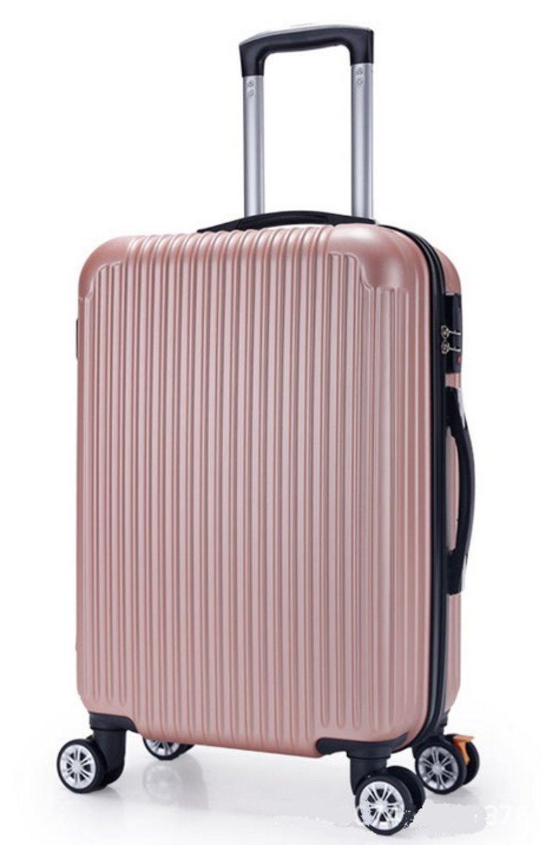 A系列20吋耐衝擊行李箱(珍珠粉紅)(1110-20)
