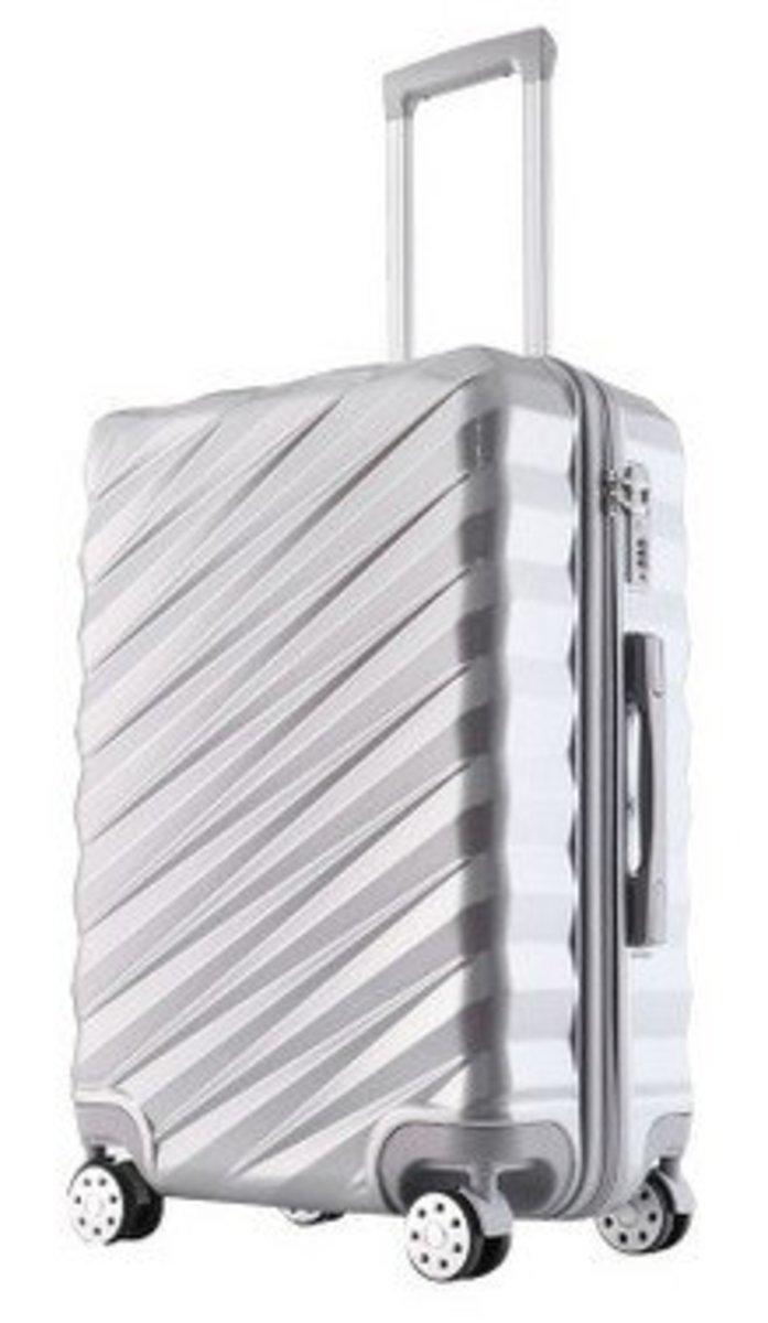 Y系列20吋耐衝擊行李箱(銀)(1121-20)