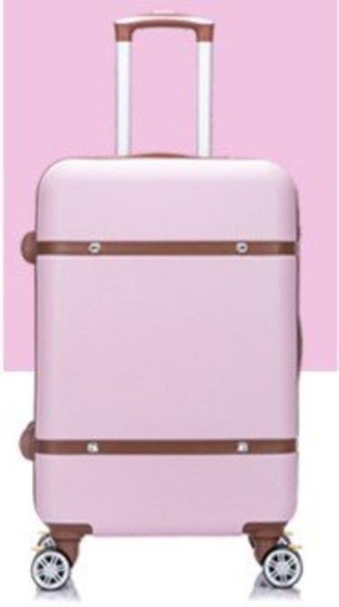 V系列20吋耐衝擊行李箱 (粉紅)(400-20)
