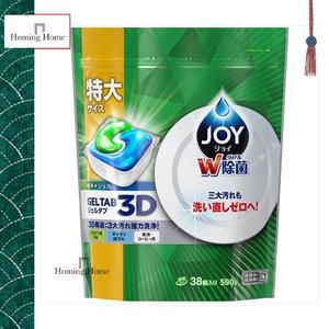 JOY 雙重除菌酵素強力洗淨洗碗碟機洗碗凝膠特大補充裝38個590g