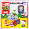 Japanese Version Dream Tomica R02 Hello Kitty  Car(887317)