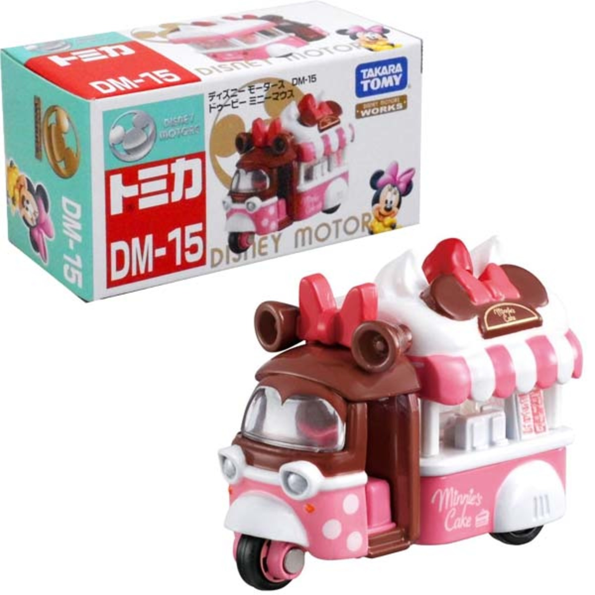 日本版Disney Motors DM-15 米妮篤篤(894360)