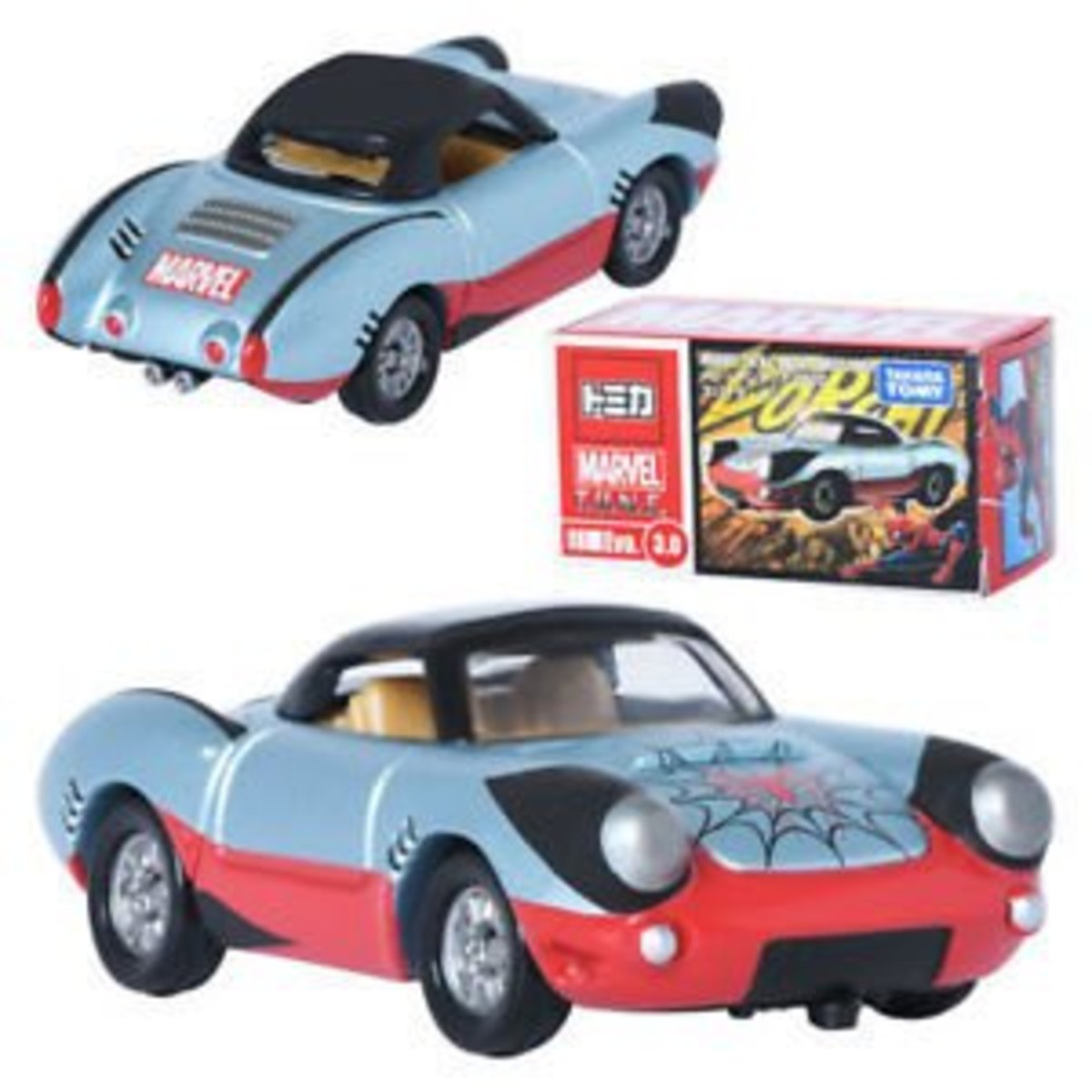 Japanese Version The Avengers Spider Man Sports Car Evo.3.0(897026)