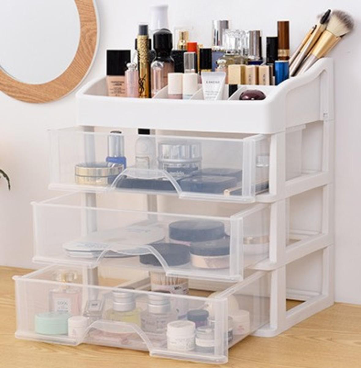 多用途四層儲物化妝箱(8506)