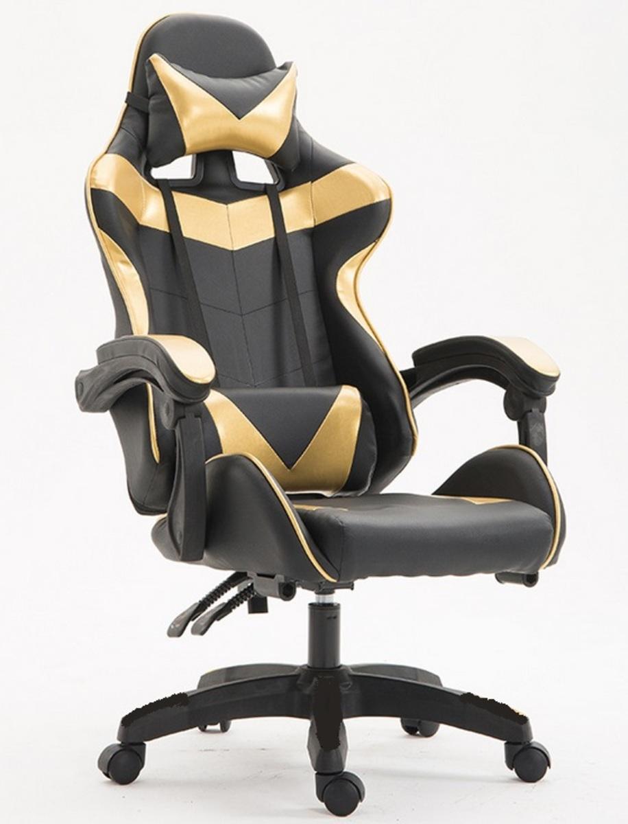 人體工學PU皮革鋼架高階電競椅(PS-080GD)