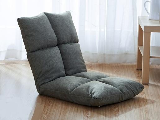 linen lazy sofa - gary (SPA01-GY)