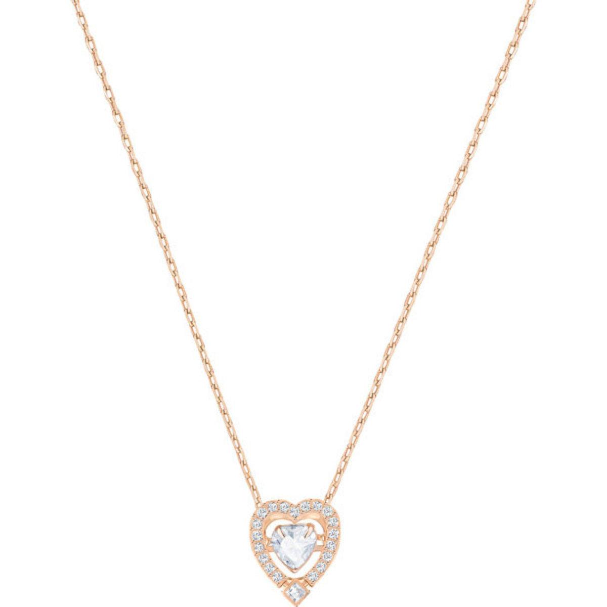 Necklaces - Sparkling Dance Heart - 5284188 (Parallel Import Goods)