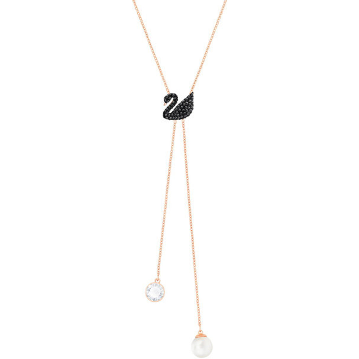 Necklaces - Swarovski Iconic Swan Y Necklace - 5351806 (Parallel Import Goods)