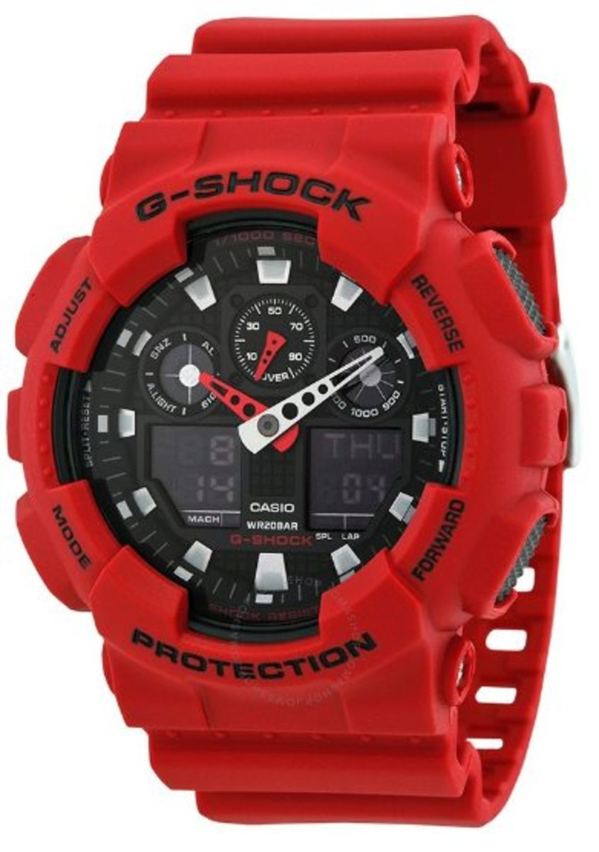 Electronic Watch - GA-100B-4A (Parallel Import Goods)