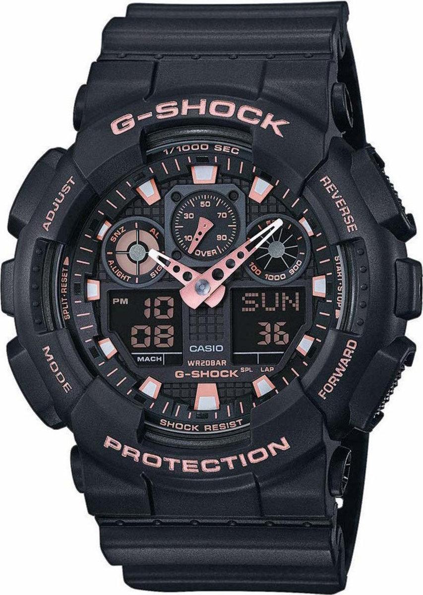 電子錶 GA-100GBX-1A4  (平行進口貨品)