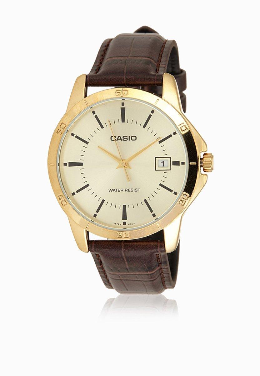 指針顯示手錶 - MTP-V004GL-9A (平行進口貨品)