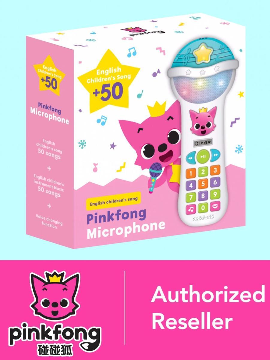 Pinkfong 咪 Magic Microphone (50 Pinkfong English songs)