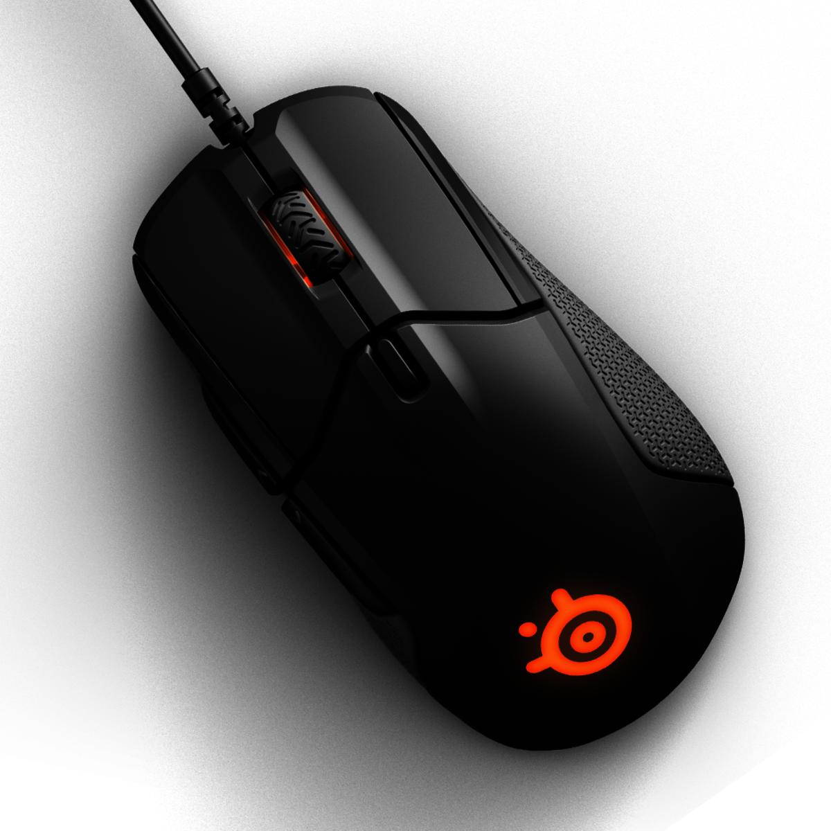 Rival 310 電競滑鼠 - 黑色