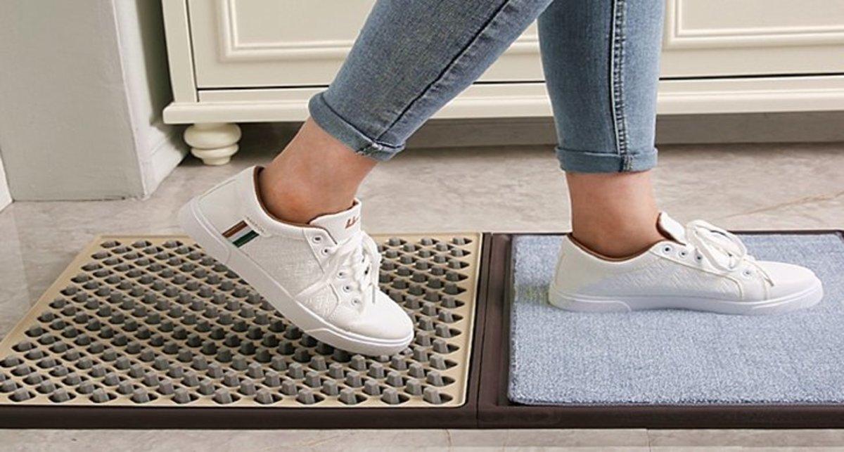 衛生漂白水清潔鞋底地毯 可放滴露 威露氏 不同消毒藥水等等