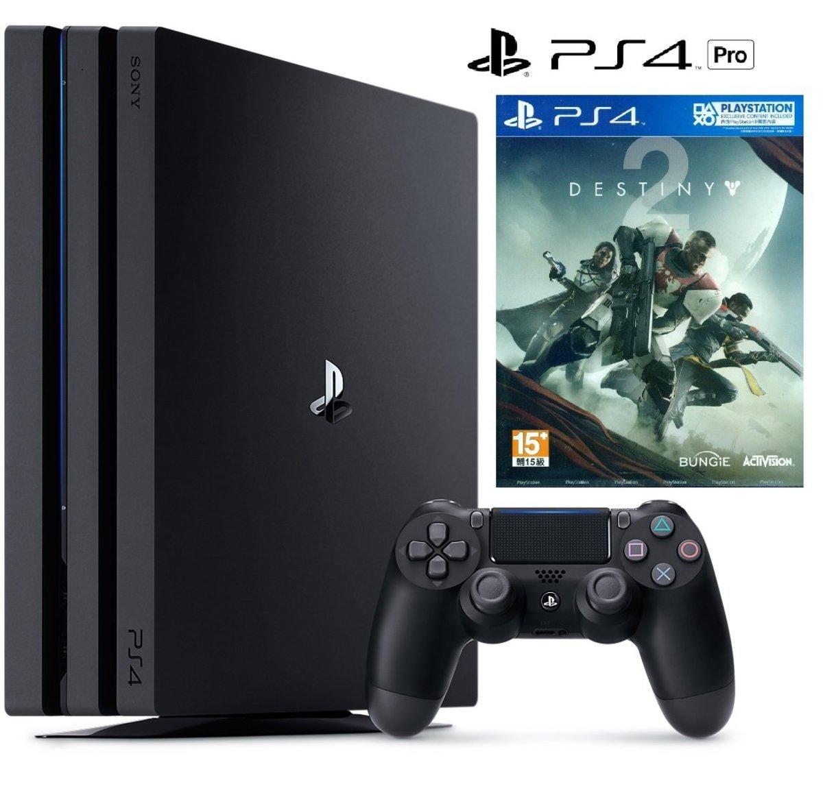 PS4 Pro 連遊戲《Destiny 天命 2》行貨套裝