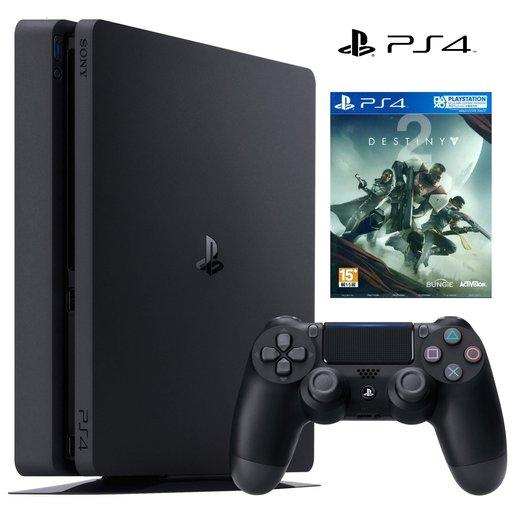 PS4 連遊戲《Destiny 天命 2》行貨套裝 - 1TB