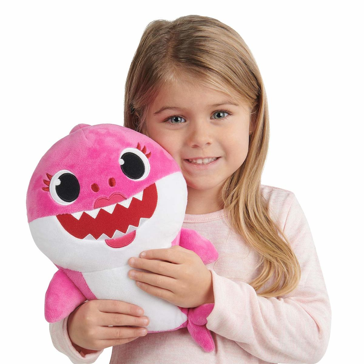 PinkFong 音樂公仔 Baby Shark Singing Plush - Mommy Shark 25cm