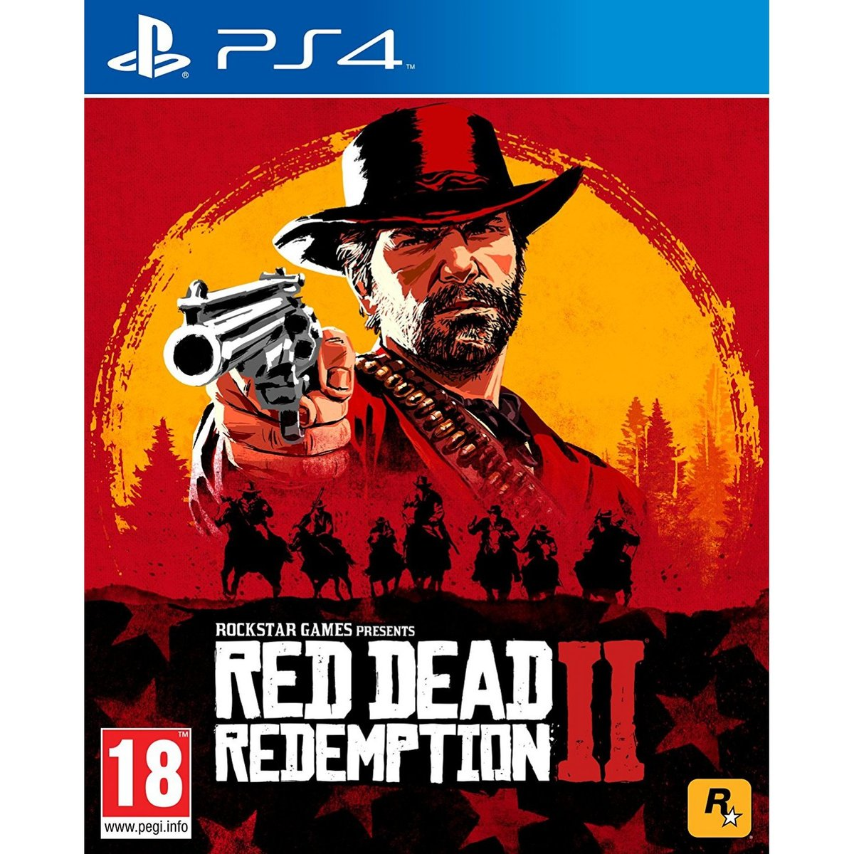 口碑大作 PS4 GAME - Red Dead Redemption 2