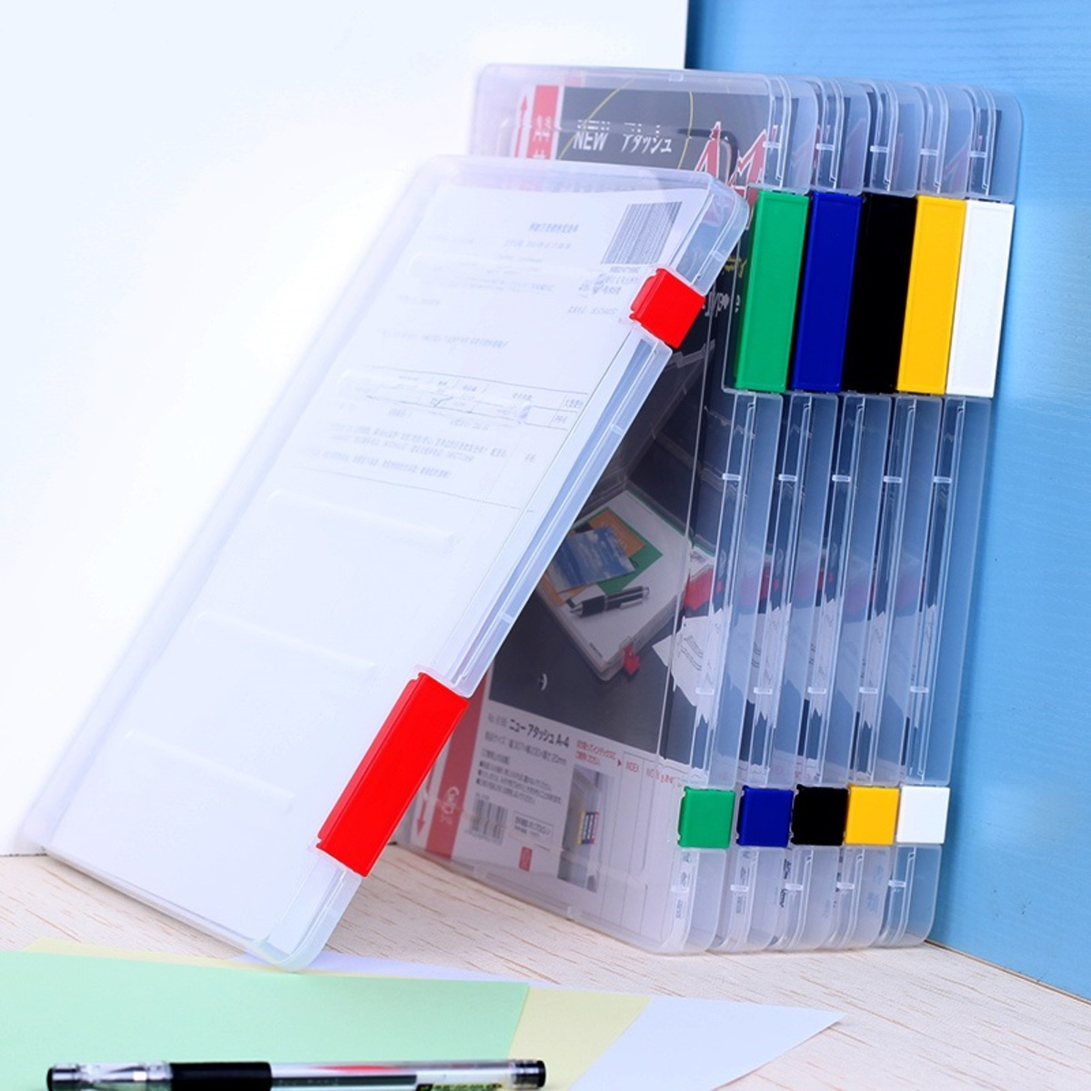 日本NHS.6195文 件盒 A4收納盒