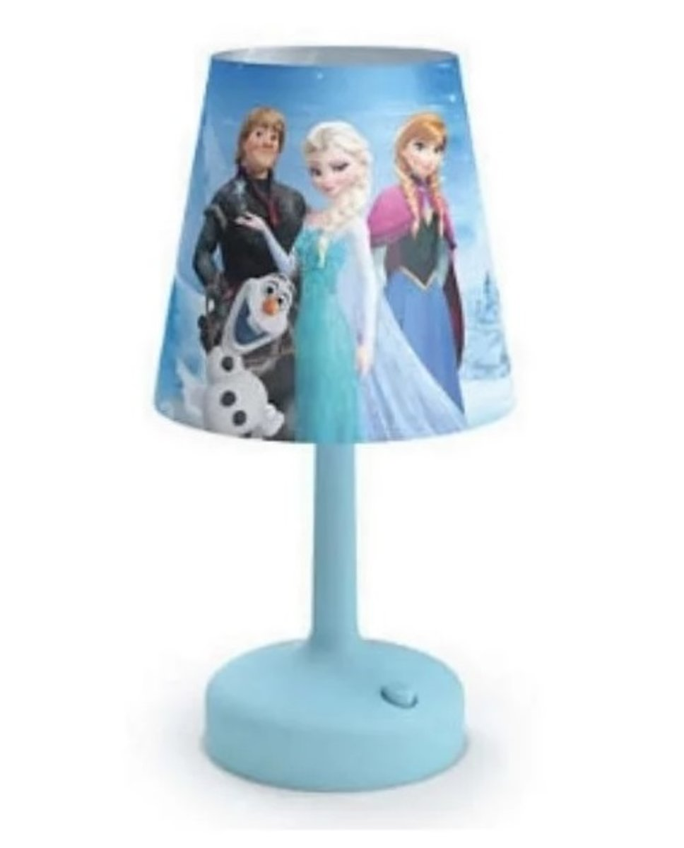 71796/08 冰雪奇緣 檯燈 Battery table lamp – Frozen