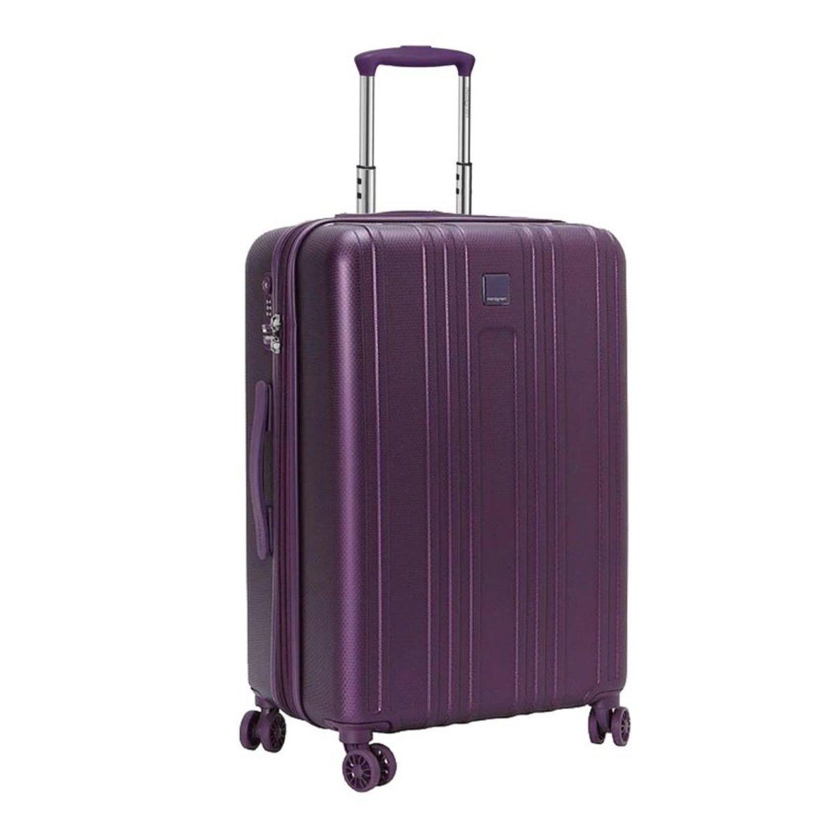 Hedgren 26吋可擴展行李箱(紫色)