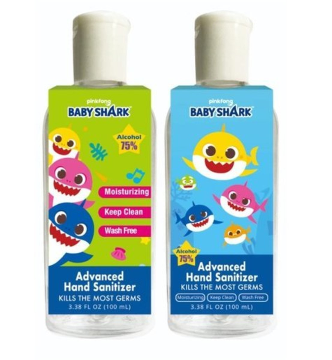 Advanced Hand Sanitizer (100ml x 1) [ A random color will be shipped]